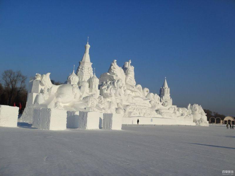 两个人的冰雪世界 冬日哈尔滨四日游记
