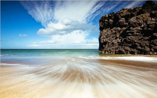 冰岛的摄影师的一组海景作品 仿佛置身于仙境