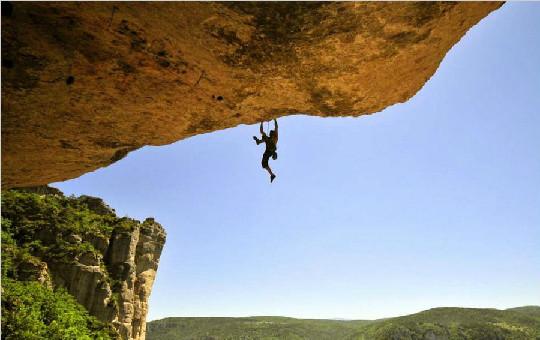 攀岩勇者冒险攀登悬崖绝壁图集 令人眩晕