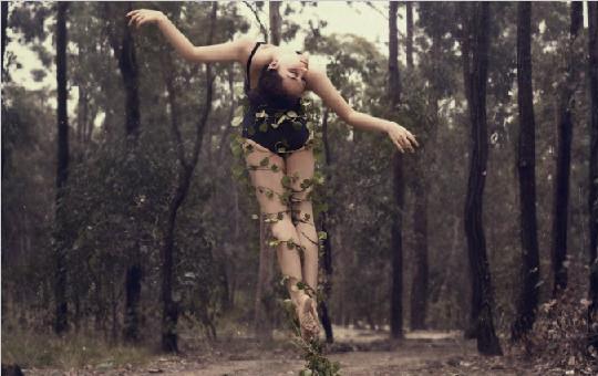澳大利亚摄影师Ingrid Endel的创意人像摄影作品