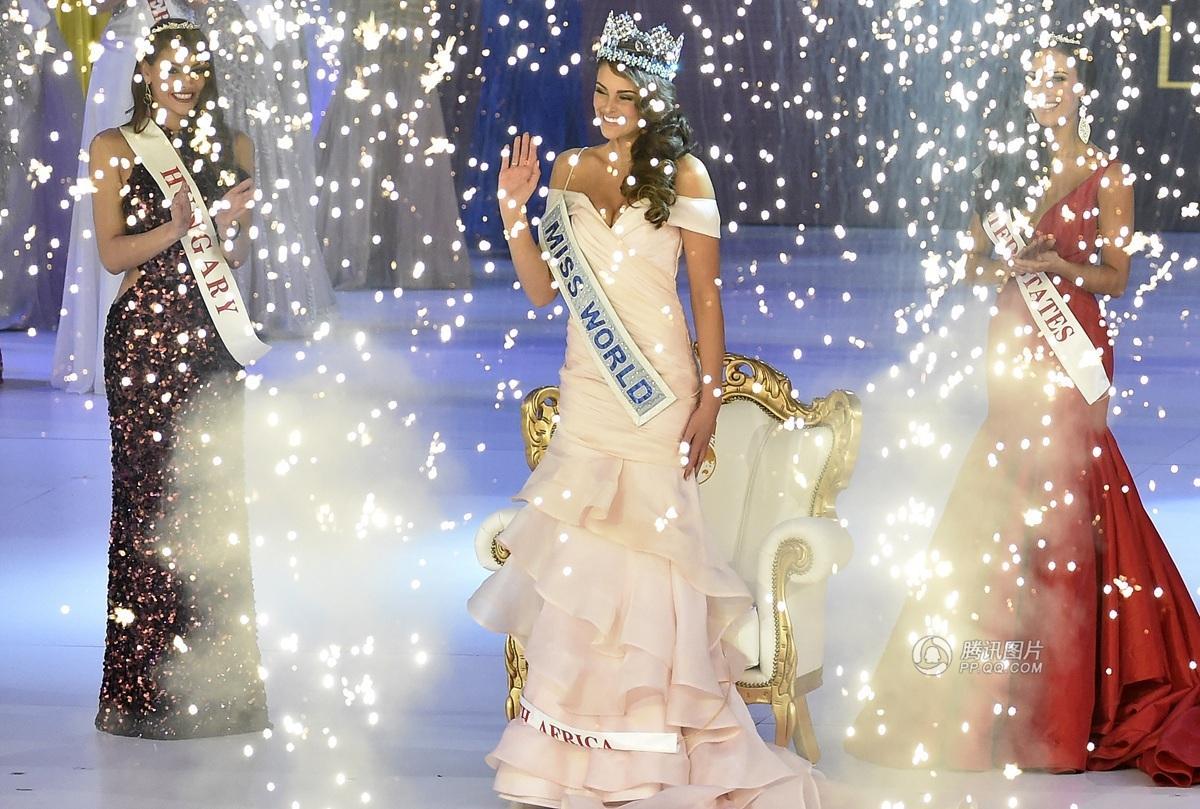 2014世界小姐总决赛 南非小姐夺得桂冠