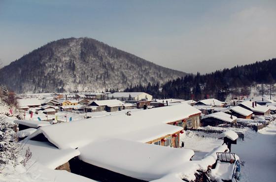 雪乡资料图