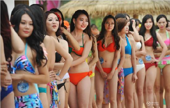 2015全球比基尼小姐中国大赛华中赛区在武汉举办