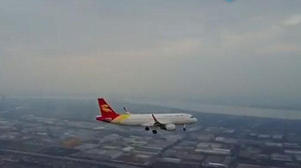 网传无人机近距离拍摄民航飞机飞行视频 浙江男子被警方控制