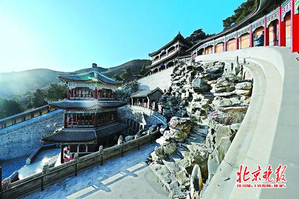北京香山寺试开放 5年修缮再现中国古典造园艺术上乘之作