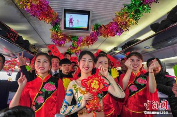 春运前10天铁路旅客近9000万人次 节前客流高峰来临