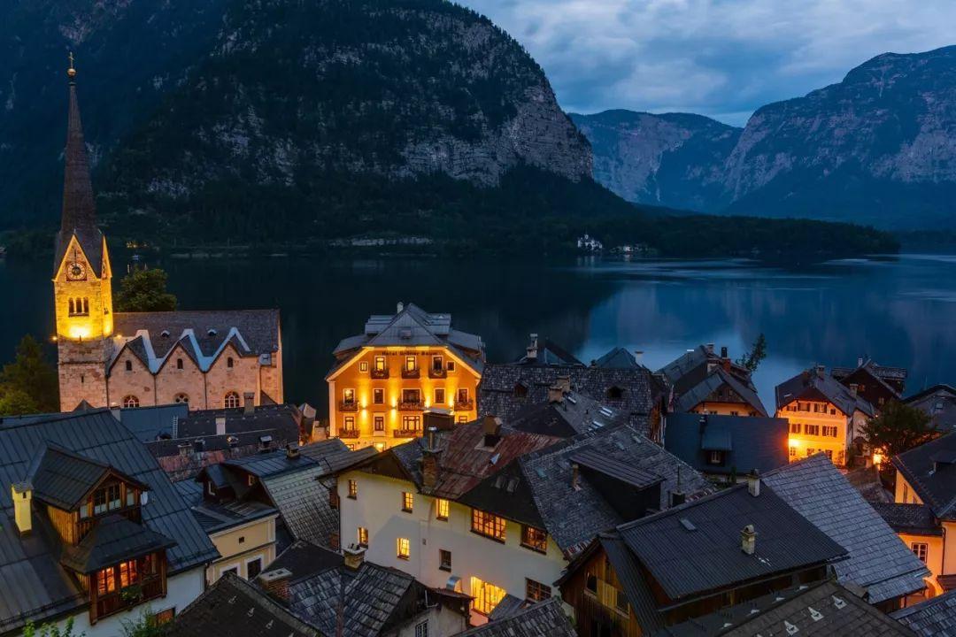 唐嫣在这里嫁给爱情!世界上最美的湖畔小镇:哈尔施塔特