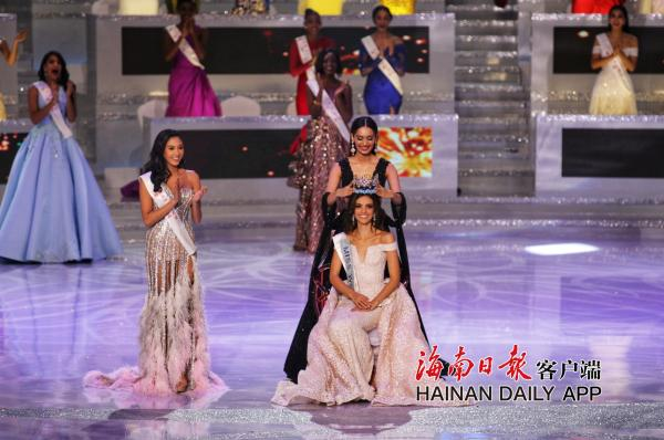 第68届世界小姐总决赛冠军出炉 墨西哥小姐摘得桂冠