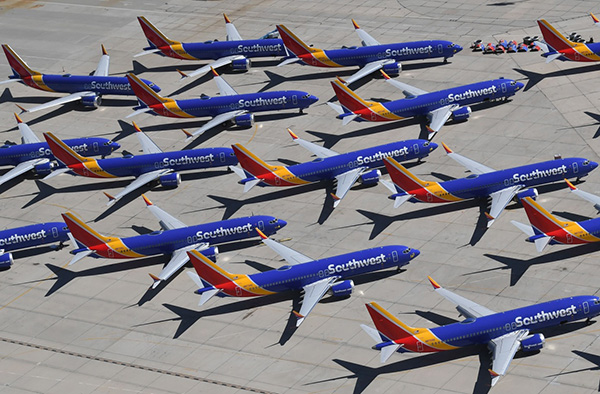 七年来首次,波音737Max三月份零订单