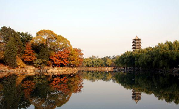 北京大学未名湖