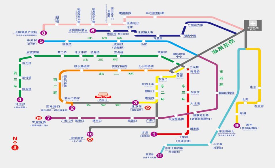市内巴士线路图