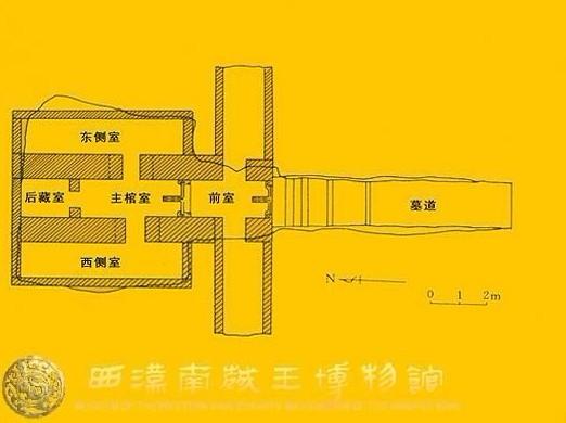 南越王墓结构图