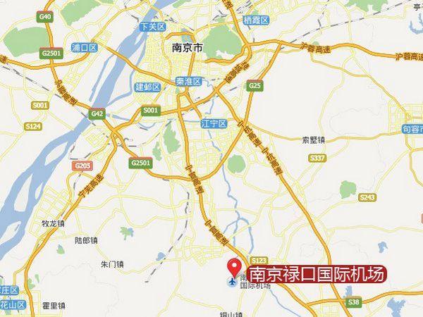 南京禄口国际机场地图
