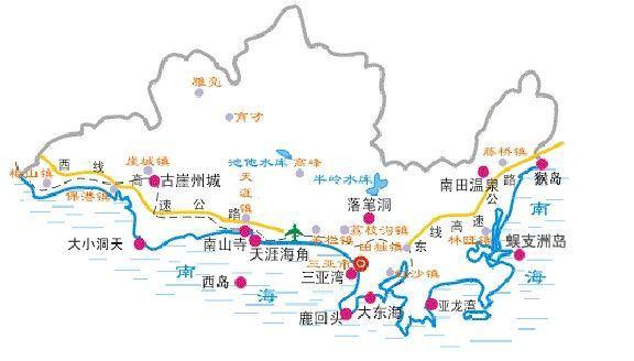三亚有哪些著名景点 三亚旅游景点推荐