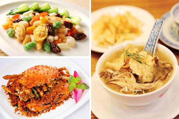 图为香港特色粤菜:海鲜小炒